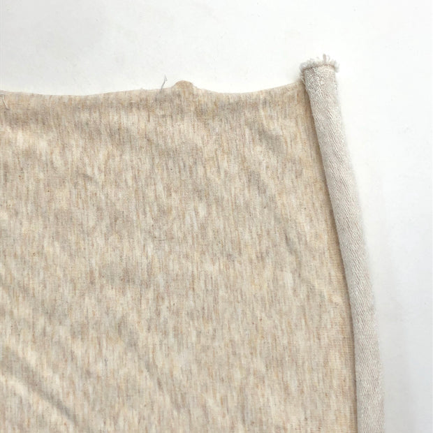 Coconut Rice Pudding - Bamboo Terry Knit - Beige - 1/2 Meter