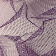 Orchid Honeycomb - Polyester Mesh Woven - Neon Purple - 1/2 Meter