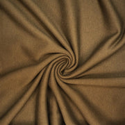 Midnight Snack - Cotton Tubular Fleece - Peanut Brown - 1/2 Meter