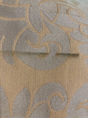 Brocade Biscuit - Poly-Cotton Woven Upholstery - Yellow - 1.30M Bundle