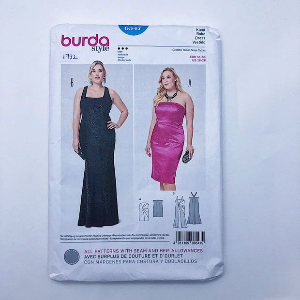 Sewing Pattern - Women - Burda 6547