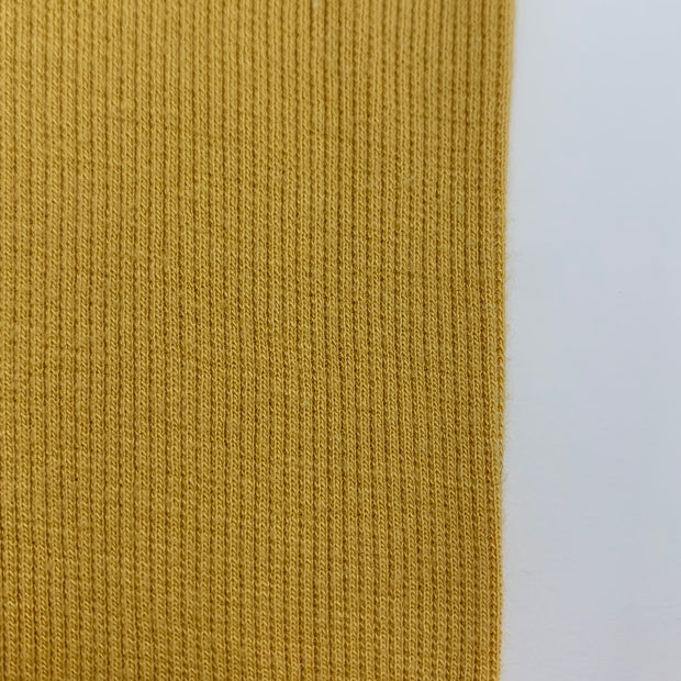 Bamboo Cotton 2X2 Rib - Knit - Mustard