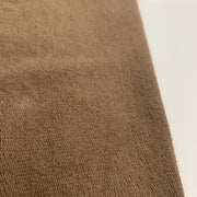 Chocolate Mousse - Bamboo Cotton French Terry - Knit - Brown - 1/2 Meter