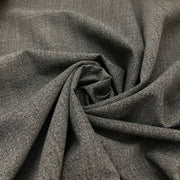 Concrete Jungle - Synthetic Crepe Woven - Grey Black  - 1/2 Meter
