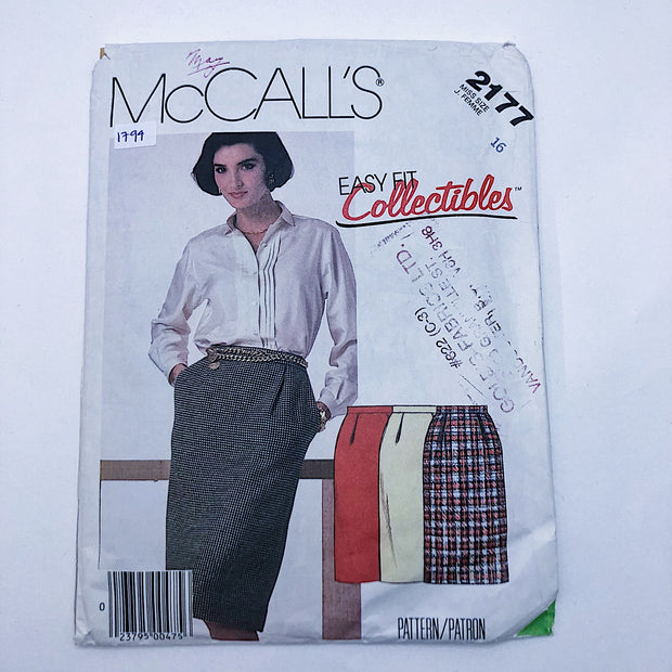 Sewing Pattern - Women - McCall's 2177