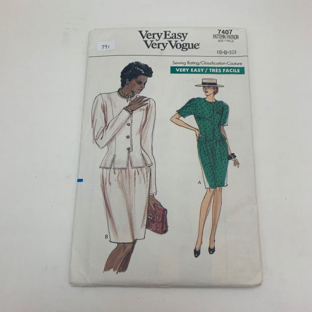 Sewing Pattern Very Easy Very Vogue