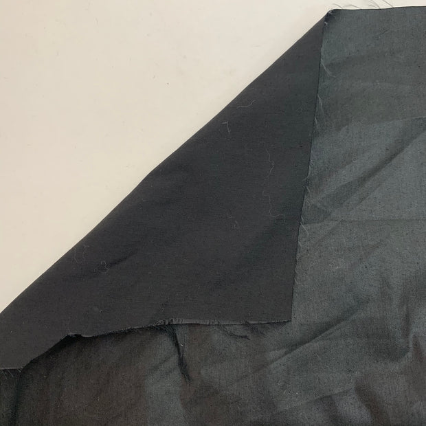 Black Soot - Technical Repellant Woven - 1/2 Meter