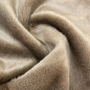Squirrel's Bushy Tail - Poly Faux Fur - Woven - Brown - 1/2 Meter