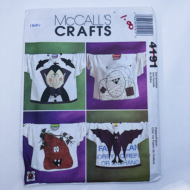 Sewing Pattern - Crafts - McCall's 4191