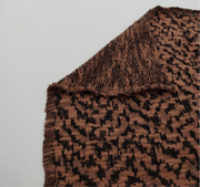 Tawny Leopard - Jacquard Cotton - Knit - 1/2 Meter