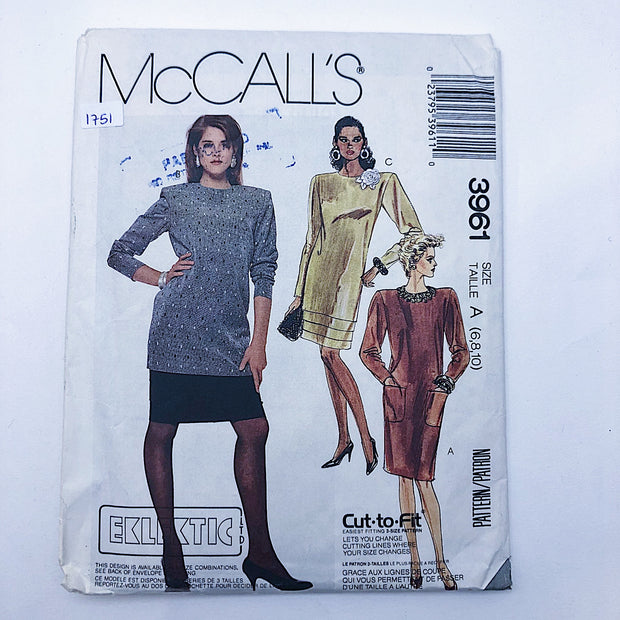 Sewing Pattern - Women - McCall's 3961