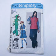 Sewing Pattern - Kids - Simplicity 8177