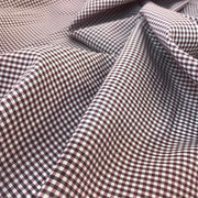 Gingham Nylon - Woven - Purple - 1/2 Meter - FABCYCLE shop