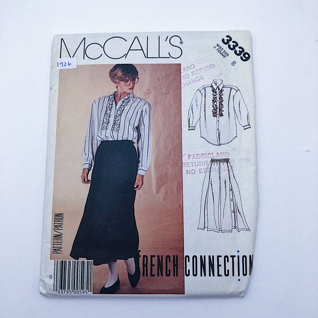 Sewing Pattern - Women - French Connection - McCall's 3339