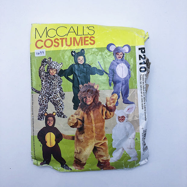 Sewing Pattern - Kids - Costume - McCall's P210