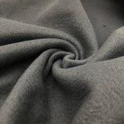Hazy Cloud - Light Grey - Polyester Fleece - 1/2 meter