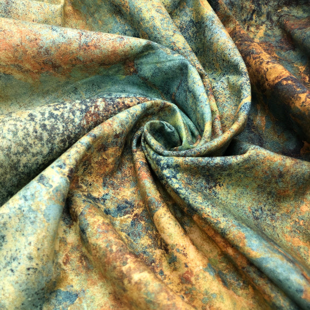Copper Water - Cotton Woven - 1/2 meter