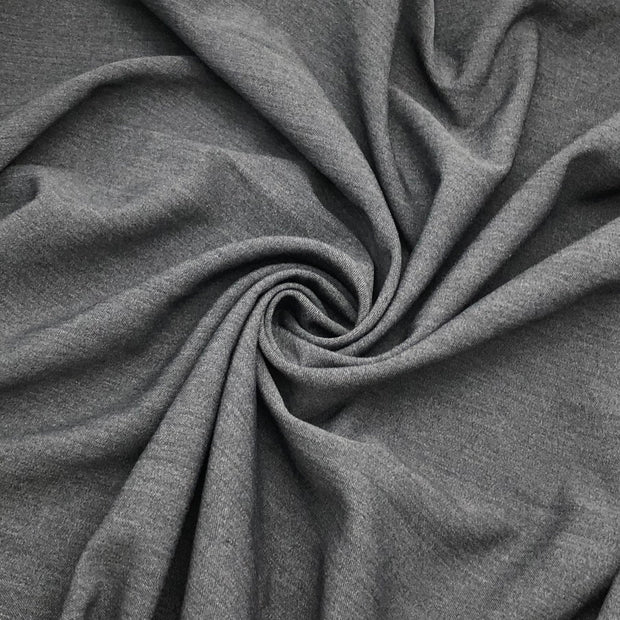 Dark Stone - Polyester Suiting Woven - Dark Grey - 1.65M Bundle
