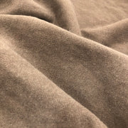 Mocha Latte - Cotton & Poly Fleece Jersey - Brown - 1/2 Meter