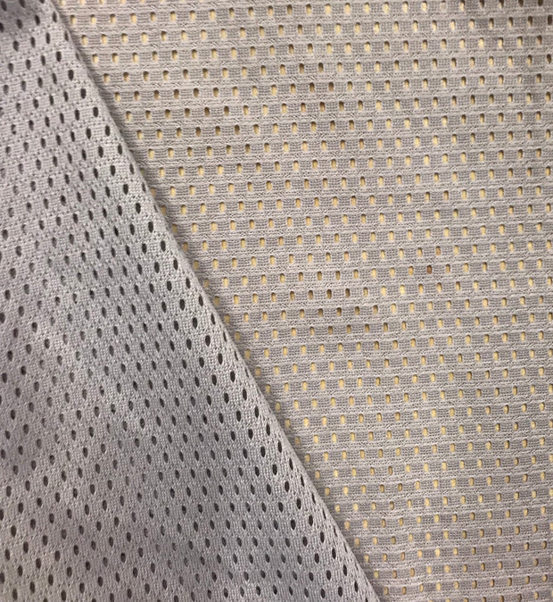 Fun Grey light mesh - Sport Jersey - 1/2 meter - FABCYCLE shop