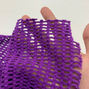 Grape Juice - Knit Netting - Purple - 2.39M Bundle