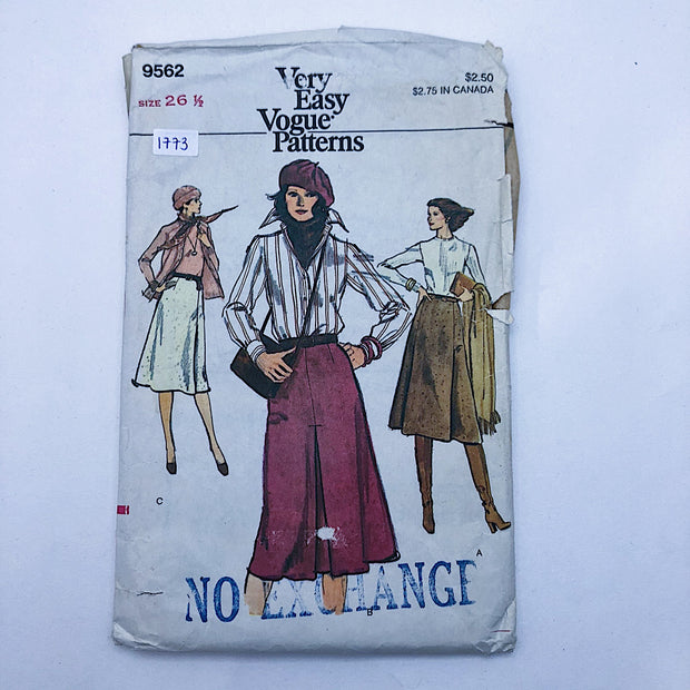 Sewing Pattern - Women - Vogue 9562