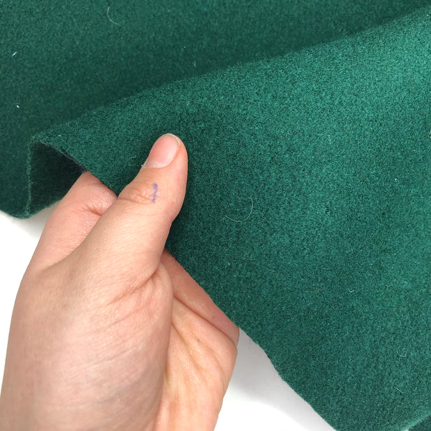 Pool Table - Boiled Wool Felt - Emerald Green - 0.90M Bundle