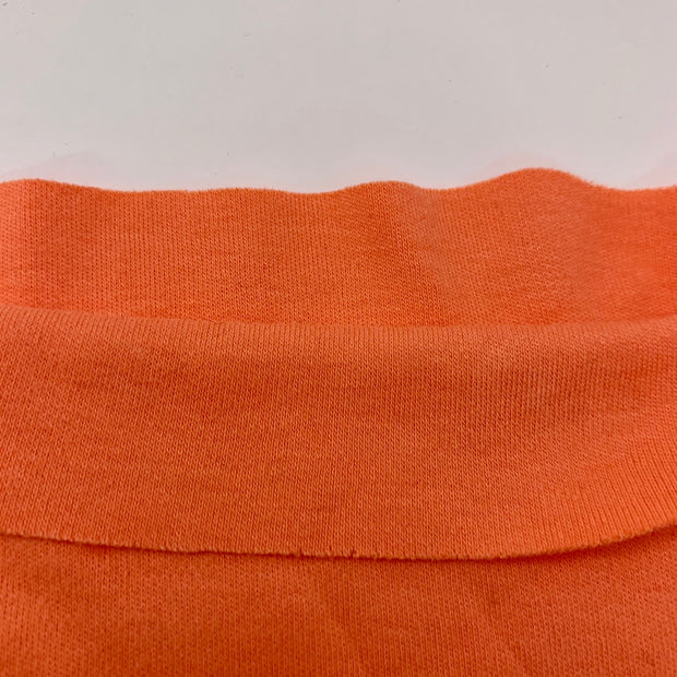 Apricot - Cotton Tubular Knit - Orange - 1/2 Meter