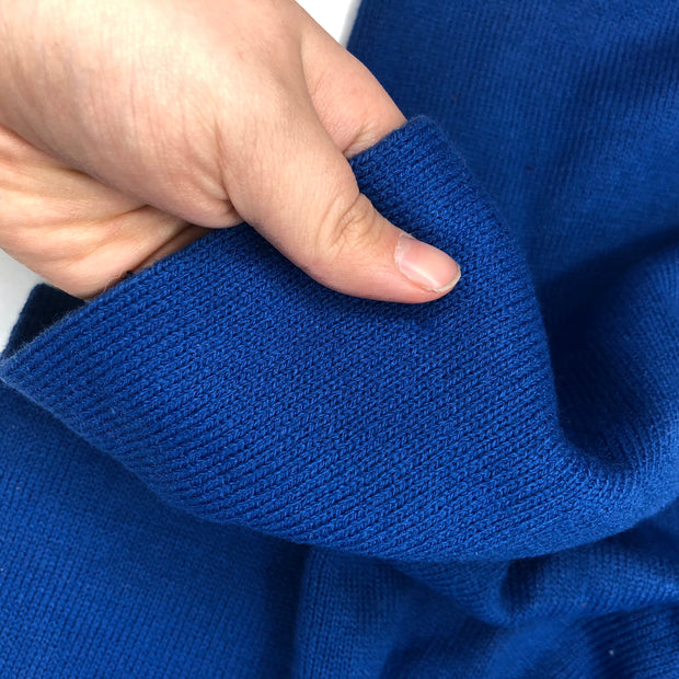 Sapphire - Acrylic Blend Knit - Royal Blue - 1/2 Meter