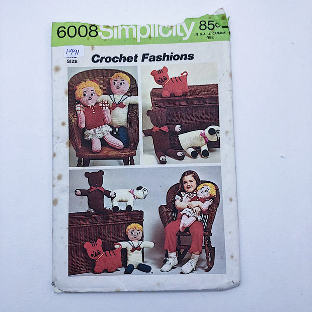 Sewing Pattern - Craft - Kids - Simplicity 6008