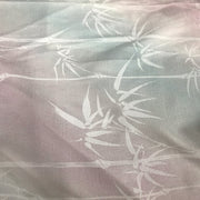 Bamboo trees print woven - 1/2 metre - FABCYCLE shop