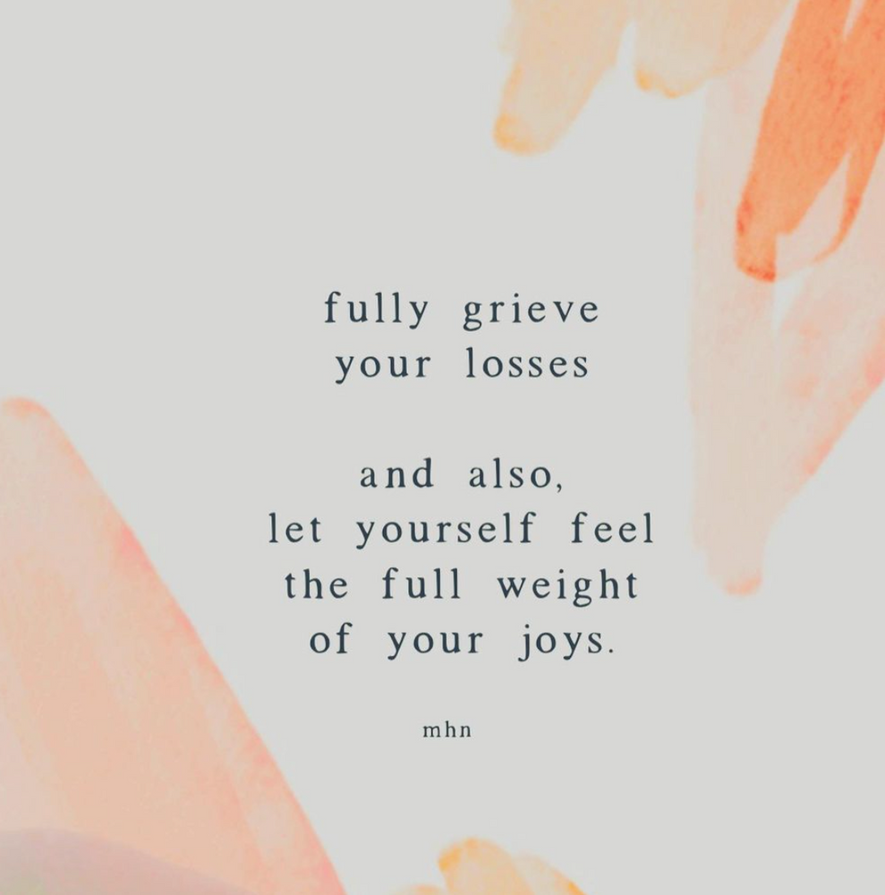 Let Yourself Feel the Full Weight of Your Joys