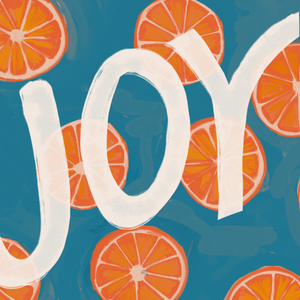 """Joy"" - Vinyl Sticker"