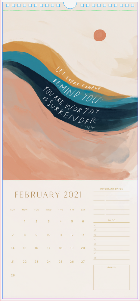Load image into Gallery viewer, 2021 MHN Wall Calendar