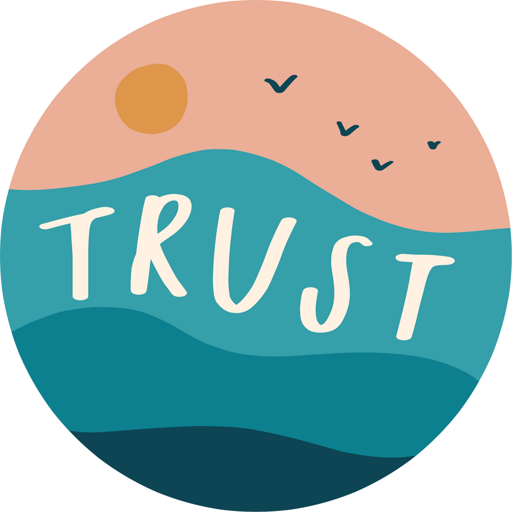 "Load image into Gallery viewer, ""Trust"" - Vinyl Sticker - Garden24"