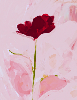 "Load image into Gallery viewer, ""Red Flower"" - Print"