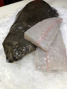 California Halibut (16oz) Frozen Skin Pack