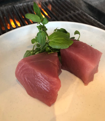 Hawaiian Ahi Tuna (1# Loin Bloodline Out, Skin Off)