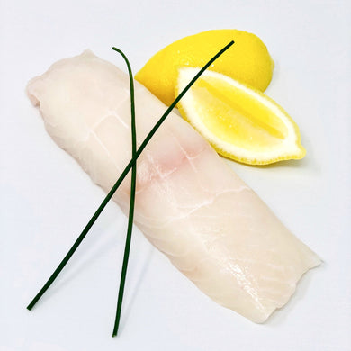 *Fresh, not frozen* Alaskan Halibut Fillet - 1# fillet cut per order
