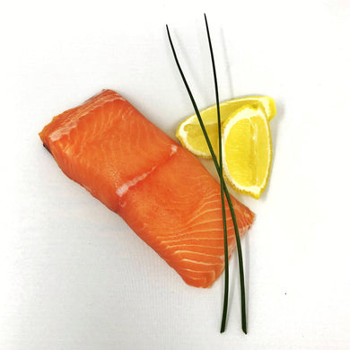 Wild California King Salmon F/v Snow White - 1# Fillet Frozen Skinpack