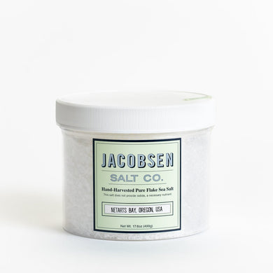 Chef Jar - Jacobsen Finishing Flake Salt - 17oz