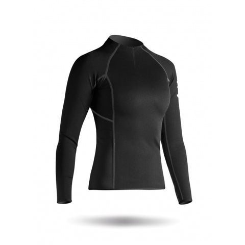 Women's Hydrophobic Fleece 1/4 Zip Top - Zhik