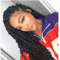 Ready to ship!!!,100% Hand Braided Passion Twists Braided Wig Cornrows Wig