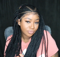 🔥Hot Sale-2020 Hand-Braided Box Braid Wig