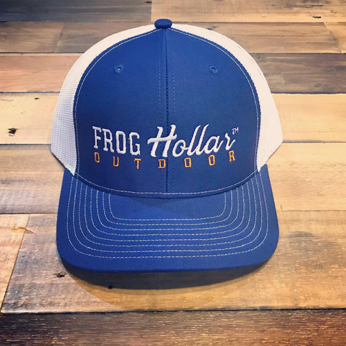 Frog Hollar Blue Hat