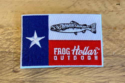 Texas Flag with Trout Patch