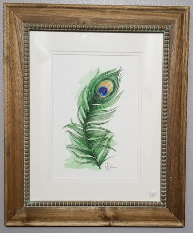 Peacock Feather - original