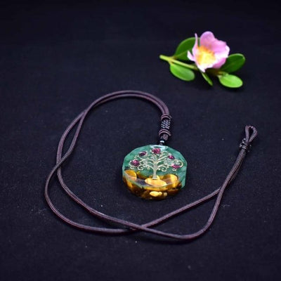Collier De Yoga Arbre