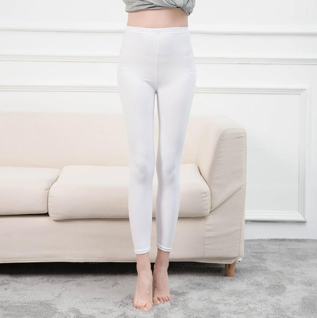 Legging Yoga blanc