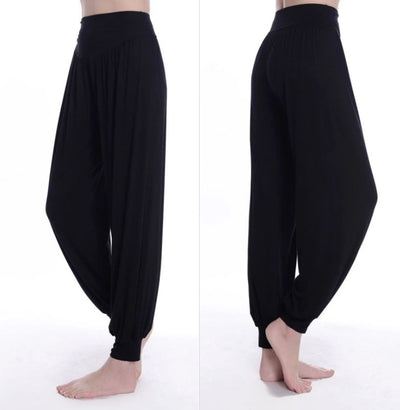 Pantalon Yoga Large Noir
